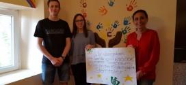 """Spendenübergabe der Tannenbaumaktion an """"Sterntaler"""""""